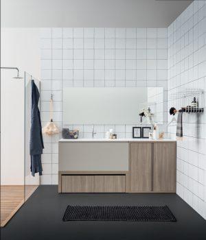 spiegelschrank bad, waschmaschinenschrank, waschbecken mit unterschrank, Birex, Acqua sapone