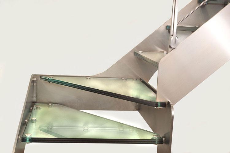 band treppen aus glas. Black Bedroom Furniture Sets. Home Design Ideas