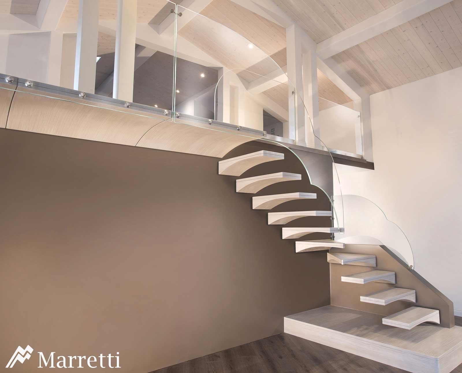 freitragende offene. Black Bedroom Furniture Sets. Home Design Ideas