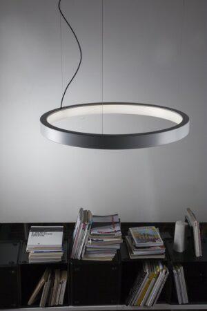lUNAOP Martinelli luce Rund Designer Pendeleuchte- ringleuchte - kreisformig Indirectes Licht 2-min