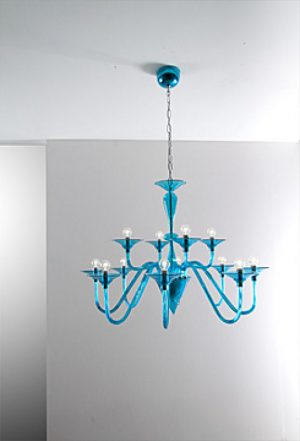 Cangini & tucci LOLITA- Moderne Mundgeblasene Glas Kronleuchter Designerlampen 5