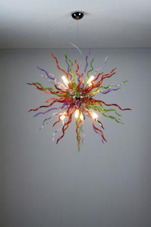 Cangini & Tucci DEVIL - Mundgeblasene Glas Moderne Kronleuchter Designerlampen Objektbeleuchtung