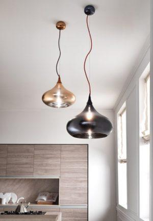 Cangini & Tucci SOPHIA- Mundgeblasene Glas Moderne Pendel Leuchte Kücheninsel Esstischlampen