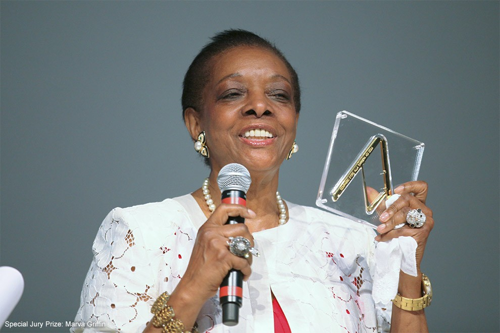 Special Jury Prize Marva Griffin