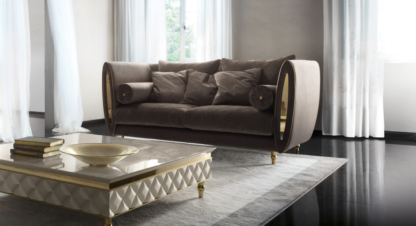 sipario kollektion sofa. Black Bedroom Furniture Sets. Home Design Ideas