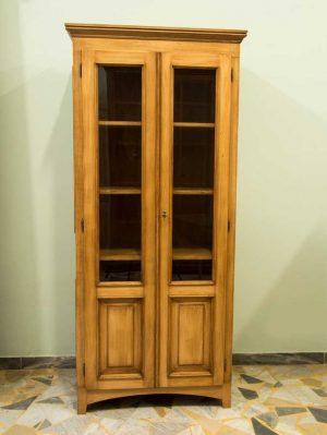 Bücherschrank-mit-zwei-Türen-ebanisteria-gambella