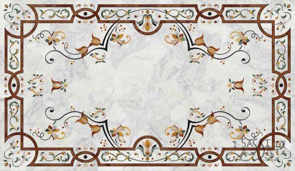i sassi di assisi marmor naturstein dekor intarsien fussboden 3