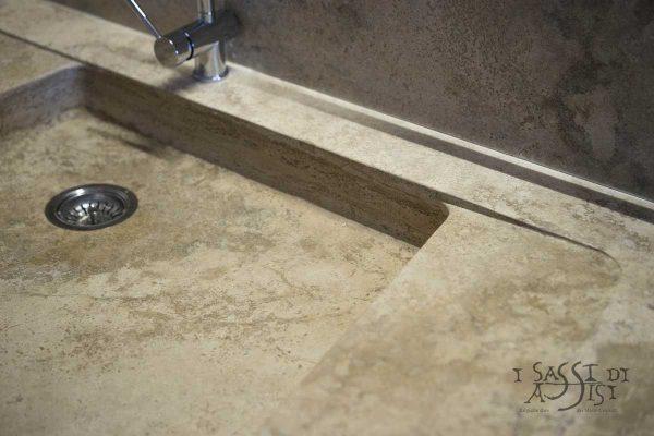 i sassi di Assisi Naturstein Marmor maßanfertigung küchenSpüle 5