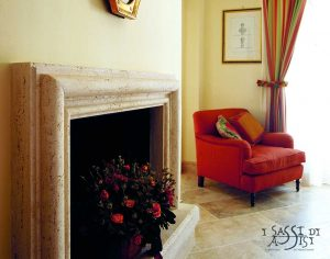 i sassi di Assisi Pflastersteine Naturstein Marmor design Gestaltung maßanfertigung referenzbilder kamin