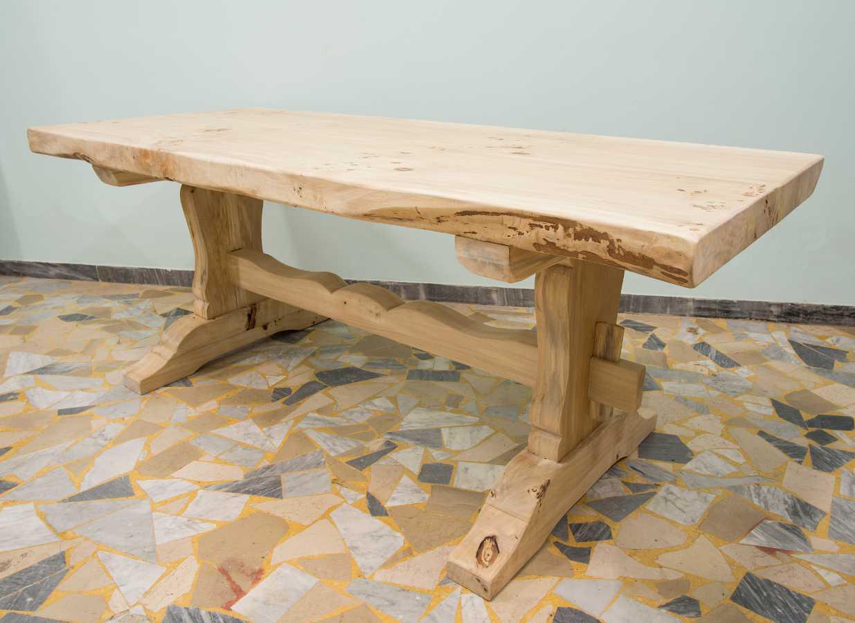 fratino rustikaler tisch. Black Bedroom Furniture Sets. Home Design Ideas