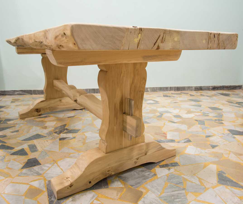 fratino rustikaler tisch ebanisteria gambella. Black Bedroom Furniture Sets. Home Design Ideas