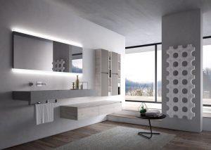 Der projektspezifischen Erfahrung und der Produktionstradition von Aqua entspringt eine Möbelkollektion, die neue persönliche Bereiche im Badezimmer entstehen lässt. Zeitlose Möbel,