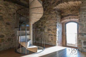 i sassi di Assisi Pflastersteine Naturstein Marmor design Gestaltung maßanfertigung referenzbilder Treppe 6
