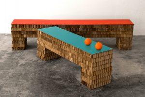 A4Adesign - streep bench
