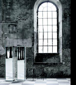 Einzelmöbel-prism-mirror-glas-italia