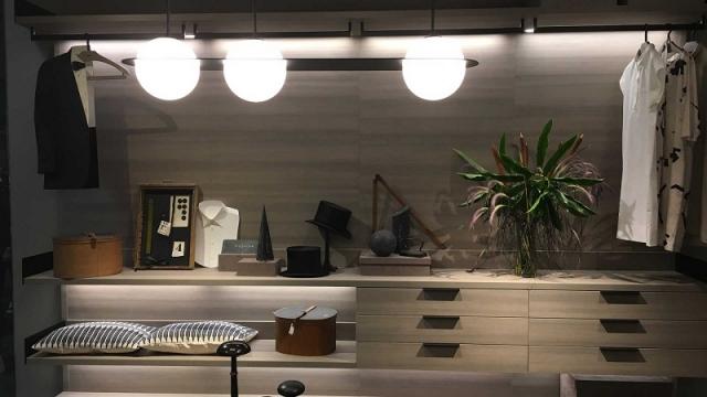 LEMA NEWS 2018 KLEIDERSCHRANK ATRIUM Design by Piero Lissoni