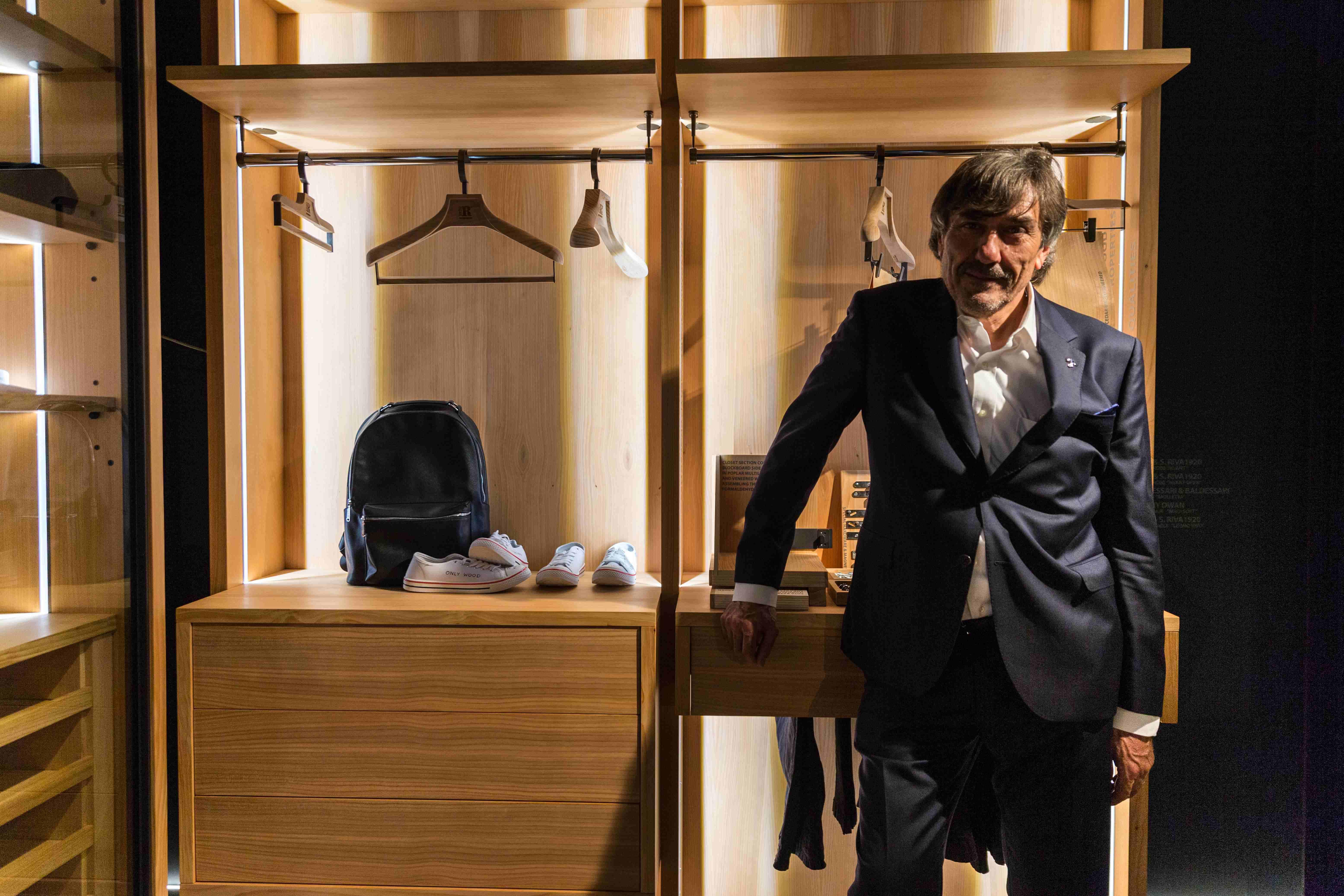 MAURIZIO RIVA, RIVA1920 Gewinner des Salone del Mobile.Milano Award 2018 PHOTO Luca Fiammenghi_web