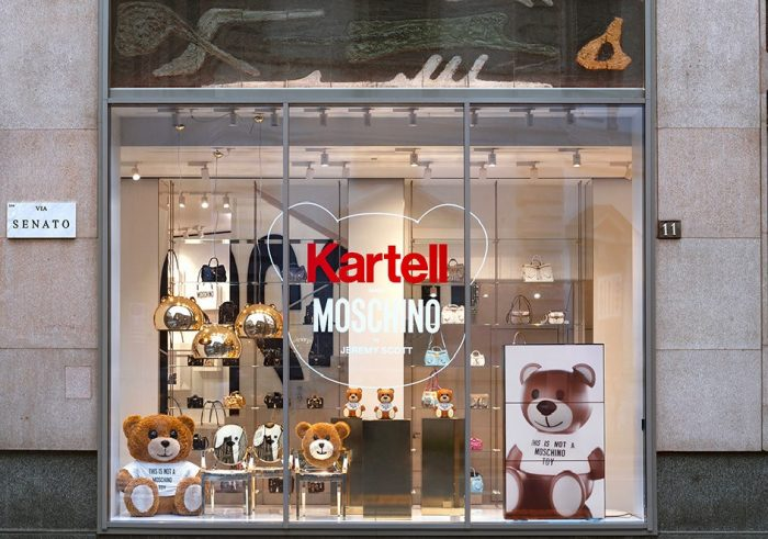 kartell schaufenster mailand 2018 Toy - Moschino web