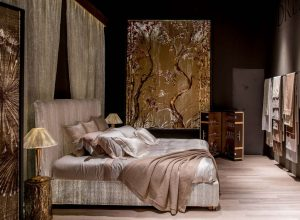 ART-WALL-GOLD-TREE-Handgemalte-Tapisserie-dreamlux
