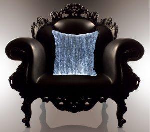 CUSHION – Led beleuchtete Kissen Textil Stoff Hingucker Dekostoff Dreamlux 12