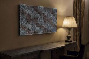 Dekostoffe-dreamlux Hightech-Textilien Glasfasern Textilbild beleuchtet Stoff-min