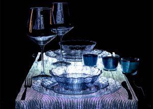 TABLE RUNNER – Led beleuchtete Tischdecke Tischläufer Tischwäsche dreamlux