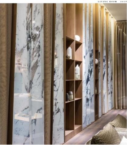 Sicis Electric-Marble-glas marmor effekt wohnen 2 MARMORPLATTEN