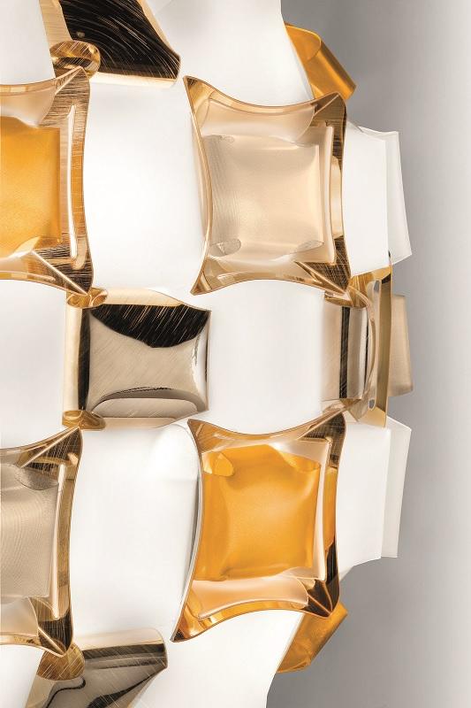 slamp mida deckenleuchte amber details