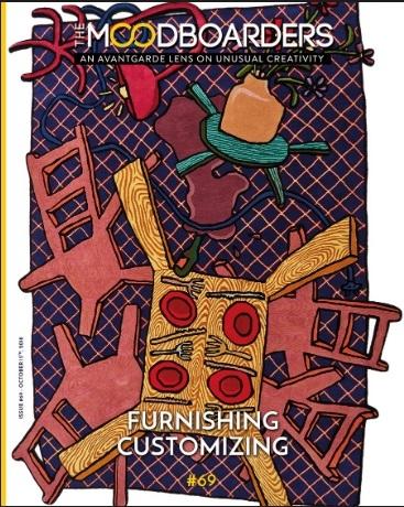 the moodboarders design magazin Cristina Morozzi nr 69 Oktober 2018 FURNISHING CUSTOMIZING
