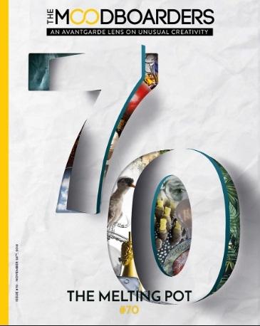 the moodboarders design magazin Cristina Morozzi nr 70 November 2018 THE MELTING POT