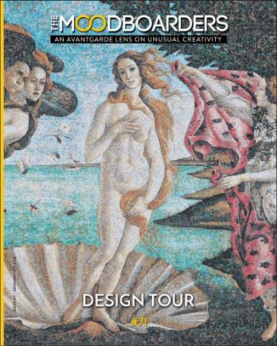 the moodboarders design magazin cristina morozzi nr 71 januar 2019 DESIGN TOUR