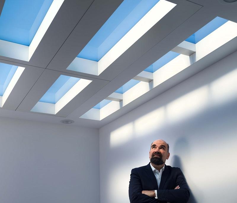 CoeLux LS Matte Himmel Sonne optik fenster Professor Paolo Di Trapani