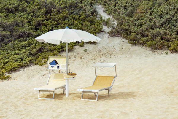 Getränkehalter elegante Sonnenschirme / Strandschirm / Stockschirmstandard-ombrellificio-ciccarese