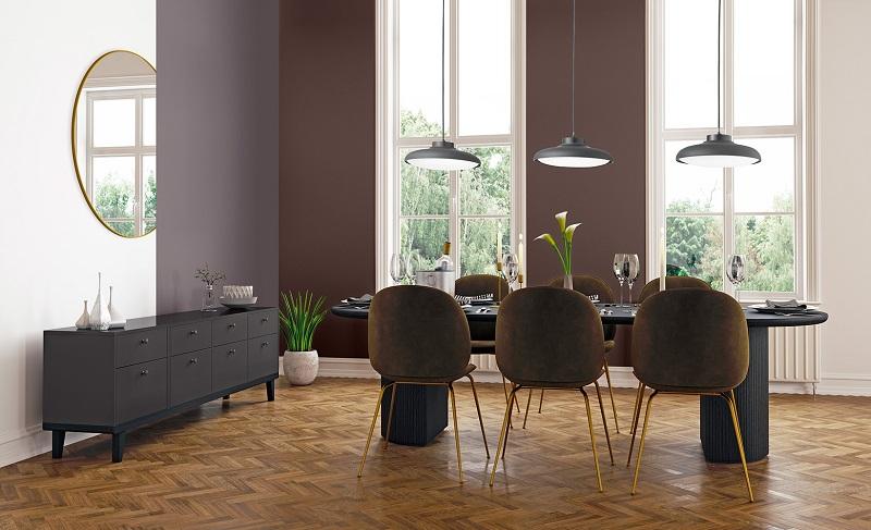 FIJI - Mundgeblasene Glas Led Decken - Pendel Leuchte Hohenverstellung Esstischbeleuchtung Designerlampen 5