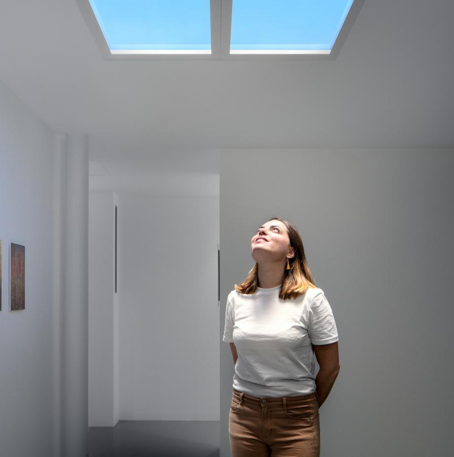CoeLux: Himmel, Sonne und Wohlbefinden in Räumen ohne Fenster