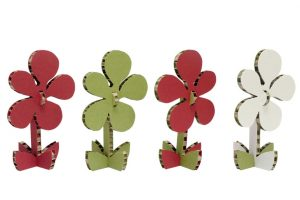 flower-s--a4adesign Pappfigur blume