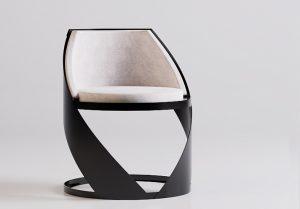 134-TrackDesign runde designer stuhl rückenlehnen Corten