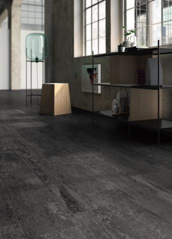 Casalgrande Padana Keramik Fliesen tendenzen 2020 ANTIQUE WOOD _black