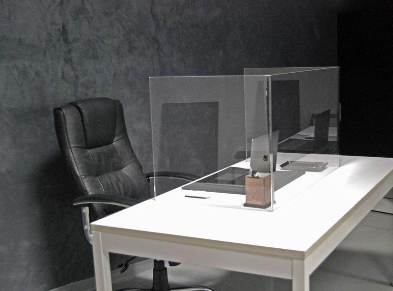 Vesta Transparenter Plexiglas-Tischtrenner arbeitsplatz kunden Schutz Corona virus infektion 2