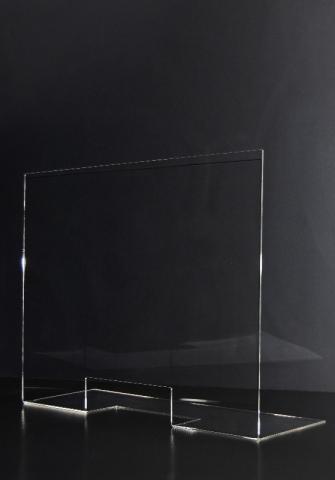 Vesta Transparenter Plexiglas-Tischtrenner kunden Schutz Corona virus infektion 1
