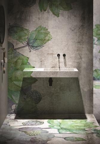 Instabilelab_Custom-me_2 dekorative Wandtapete Badezimmer Ambiente inspirationen einrichten Traumbad-min