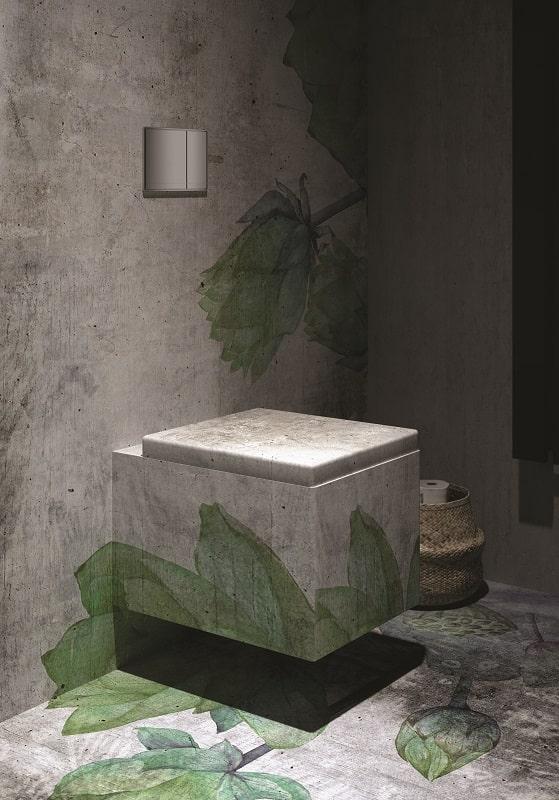 Instabilelab_Custom-me_3 dekorative Wandtapete Badezimmer Ambiente inspirationen einrichten Traumbad-min