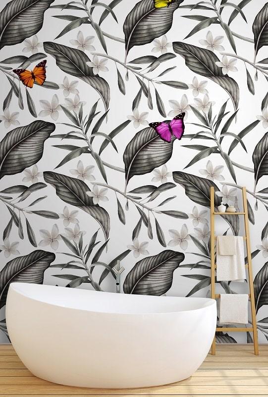 Instabilelab_but dekorative Wandtapete Badezimmer Ambiente inspirationen einrichten Traumbad-min