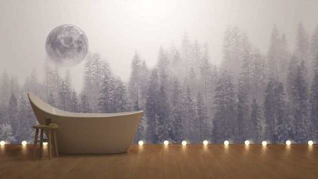 Instabilelab_dark side dekorative Wandtapete Badezimmer Ambiente inspirationen einrichten Traumbad-min