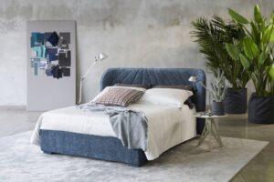 MILANO BEDDING VICTORIA hochwertiges Designerbett gesteppt Polsterbett abziehbar mit Bettkasten
