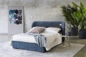 Milano Bedding Victoria Designer gesteppten Bett Polsterbett abziehbar mit bettkasten Hochwertig Italien-min