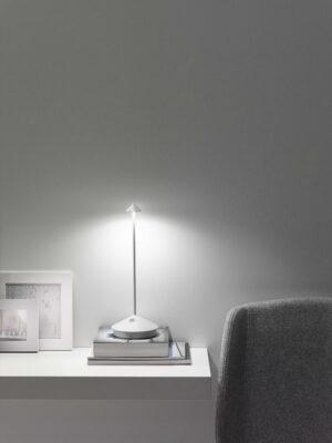 Ailati Zafferano pina minimalistiche designer dimmbare Led Akku Tischleuchte Außen batterieleuchte tischbeleuchtung (4)