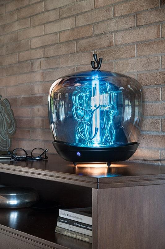 PURITY CAPSULE design uv licht Desinfektions GERÄT Desinfektionslampe Sterilisationsbox VON SLAMP 3