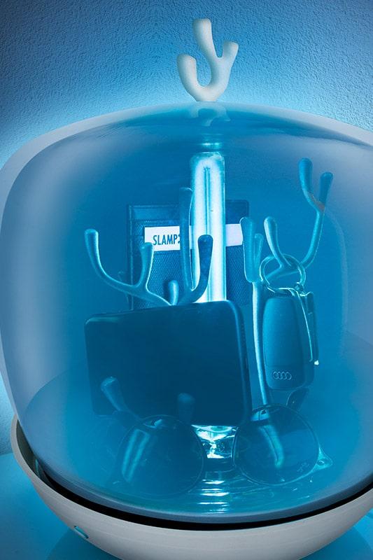 PURITY CAPSULE design uv licht Desinfektions GERÄT Desinfektionslampe Sterilisationsbox VON SLAMP 5