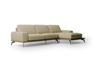 CUBO ROSSO ELBA weiches und stillvolles Sofa moderne Couch Sitzmöbel Wohnlandschaft